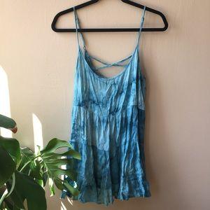 Hanger 221 Tie Dye Tiered Dress